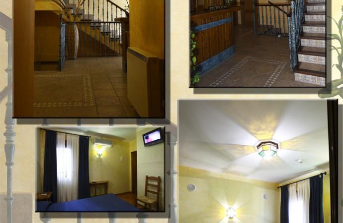 Habitaciones ático Hostal Tic-Tac